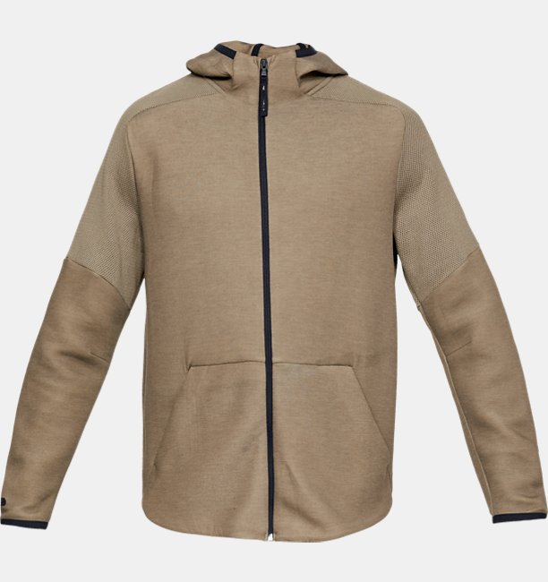 Sudadera con Capucha UA Unstoppable Move Light Full Zip para Hombre